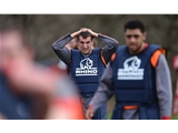 05.03.14 - Wales Rugby Training - Sam Warburton during training. © Huw Evans Picture Agency