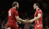 Alun Wyn-Jones and Sam Warburton