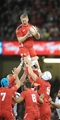 15.11.14 - Wales v Fiji - Dove Men Series - Bradley Davies of Wales wins line out ball. (c) Huw Evans Agency
