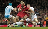 Jamie Roberts tackled
