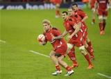 06.02.15 - Wales v England-  Richard Hibbard of Wales .