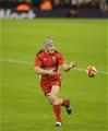 06.02.15 - Wales v England-  Jonathan Davies of Wales .