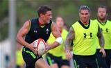 28.07.15 - Wales Rugby Camp in Qatar -Rhys Priestland during training.
