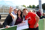 11.08.15 - Wales Rugby Signing Session in North Wales -Rhys Webb during a signing session at Parc Eirias.