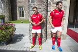 01.09.15 - Wales Rugby World Cup Squad 2015 -Matthew Morgan and Ken Owens.