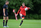 03.09.15 -  Wales Rugby Training -Liam Williams during training.