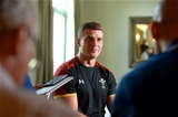 16.09.15 - Wales Rugby World Cup Media Interviews -Scott Williams talks to media.
