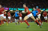 20.09.15 - Wales v Uruguay, Rugby World Cup 2015 - Cory Allen of Wales races in to score his second try