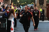 26.09.15 - England v Wales - Rugby World Cup 2015 -Gethin Jenkins arrives for the game.