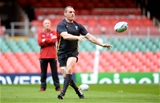 30.09.15 - Wales Rugby Training -Gethin Jenkins during training.