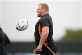 05.10.15 - Wales Rugby Training -Samson Lee during training.