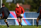 06.10.15 - Wales Rugby Training -Liam Williams during training.