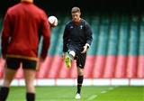 11.02.16 - Wales Rugby Training -Rhys Priestland during training.