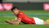 11.06.16 - New Zealand v Wales - Steinlager Series 2016 -Rhys Webb of Wales scores try.