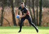 02.02.17 - Wales Rugby Training -Rhys Webb during training.