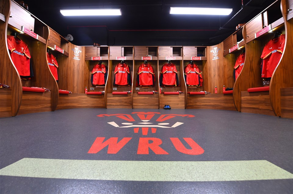 10.03.17 - Wales v Ireland - RBS 6 Nations 2017 -Wales dressing room.