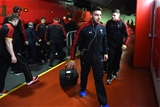 10.03.17 - Wales v Ireland - RBS 6 Nations 2017 -Rhys Webb arrives.