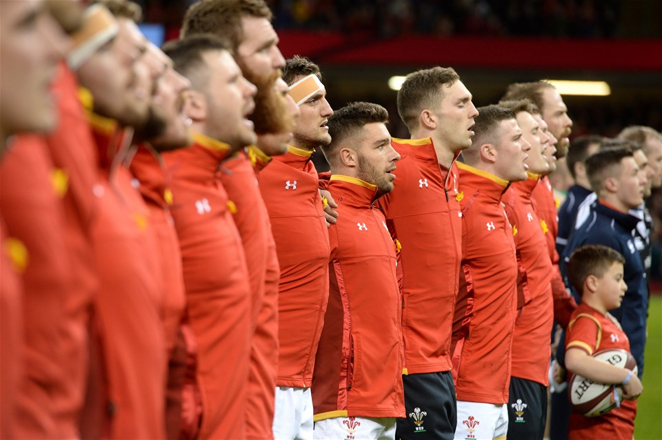 10.03.17 - Wales v Ireland - RBS 6 Nations 2017 -Sam Warburton of Wales during the anthems.